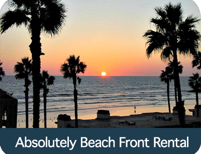 Absolutely Beach Front Rental